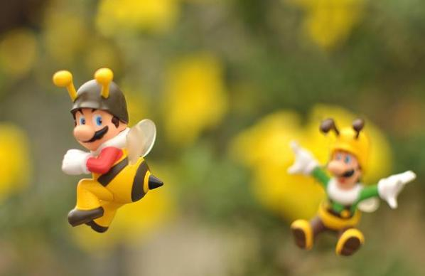 super mario brothers bees