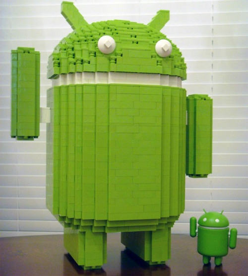 Android Lego Sculputure
