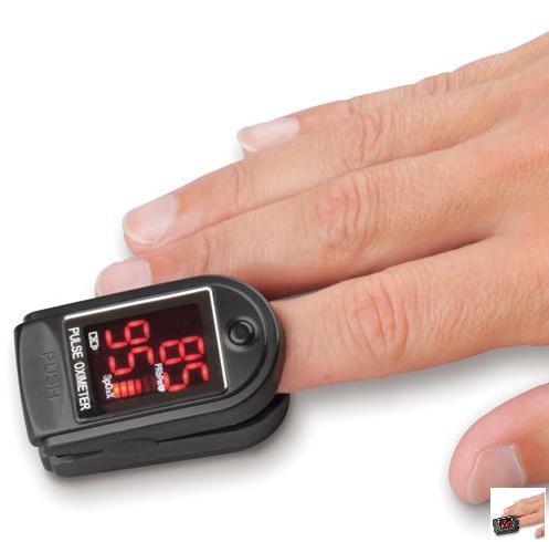 Fingertip Heart Rate Monitor