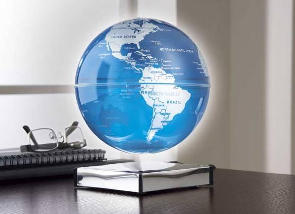 Floating Lighted Globe