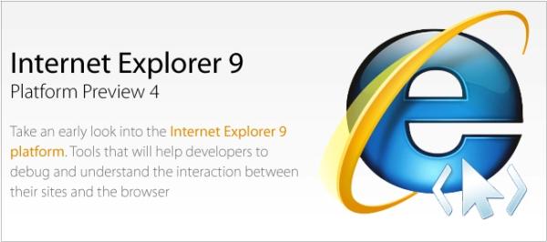Internet Explorer 9 Preview