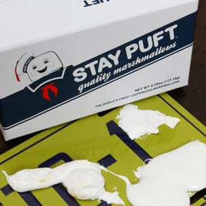 Stay Puft Caffeinated Gourmet Marshmallows burnt