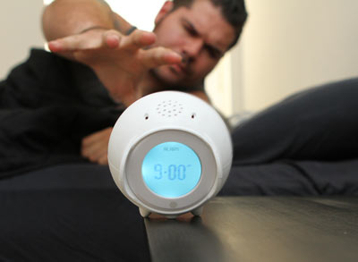 Tocky Rolling Ball Alarm Clock work