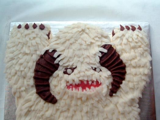 Wampa Cake