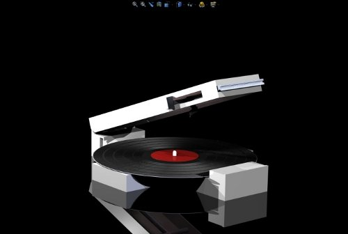 Audia Project Record Player System Modern LP Player