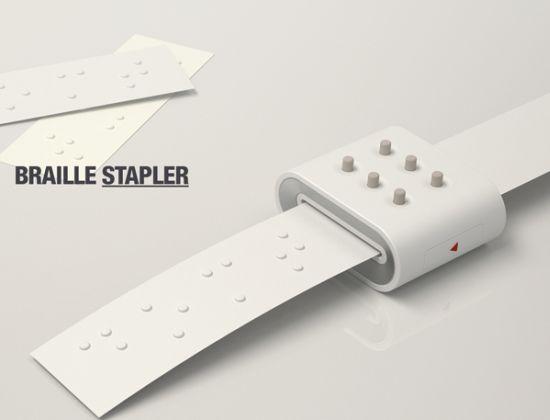 braille stapler