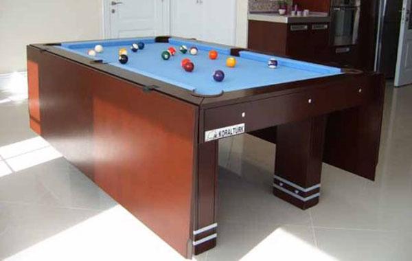 Ultimate DiningPool Table Walyou - Masterpiece pool table