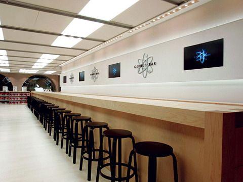 geek bars restaurants apple genius bar