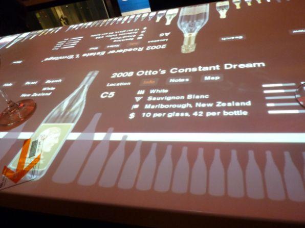 geek bars restaurants clo wine bar touchscreen bar 2