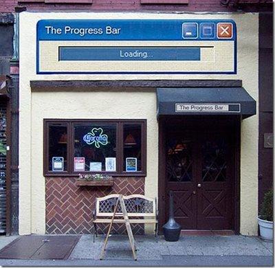 geek bars restaurants the progress bar