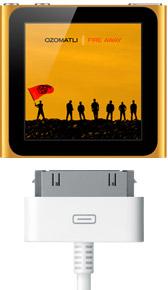 ipod nano multitouch screen size