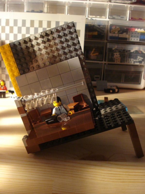 lego inception Fischer poster making of