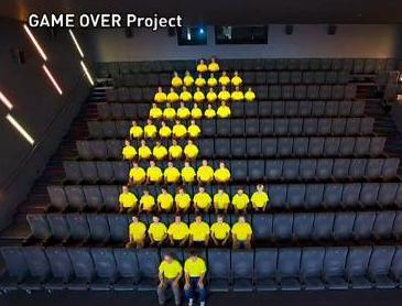 pacman stop motion video game