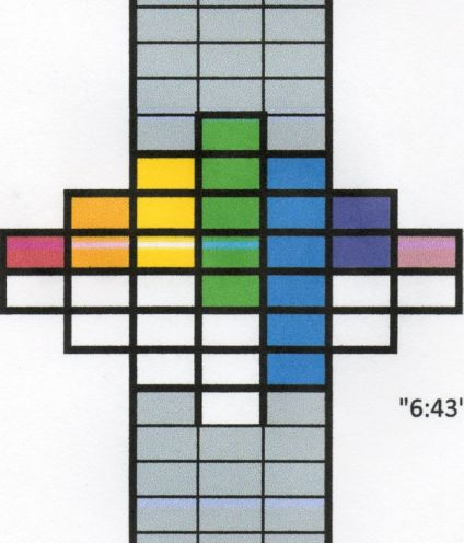 rectangles showing time