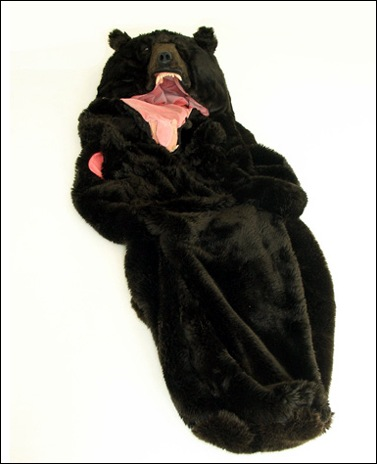 sleeping bag bear animal theme