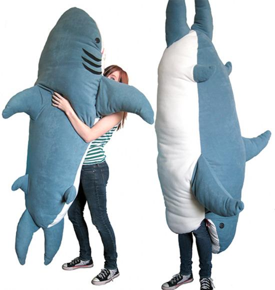 sleeping bag shark attack theme