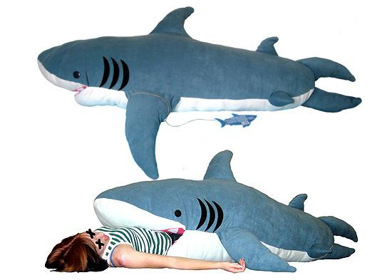 sleeping bag shark attack