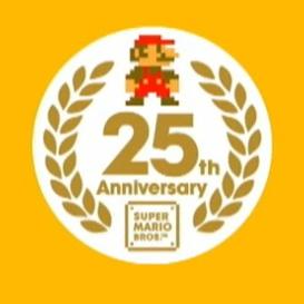 super mario 25th birthday