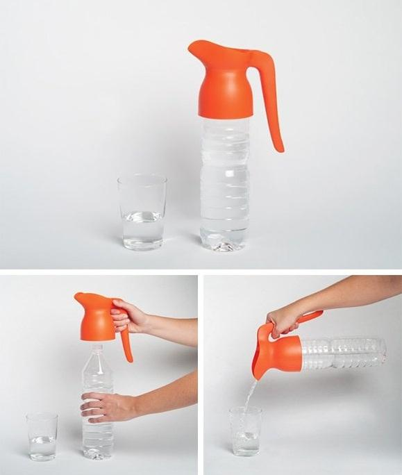 water bottle pouring gadget deszign