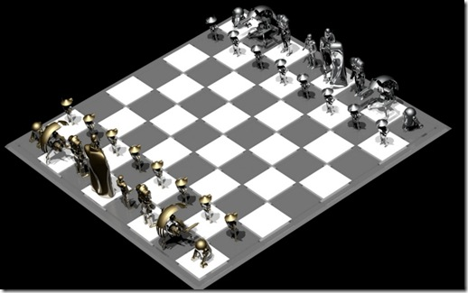 Chess silver side