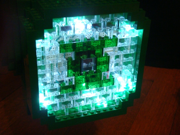 Lego Green Lantern Power Battery Light