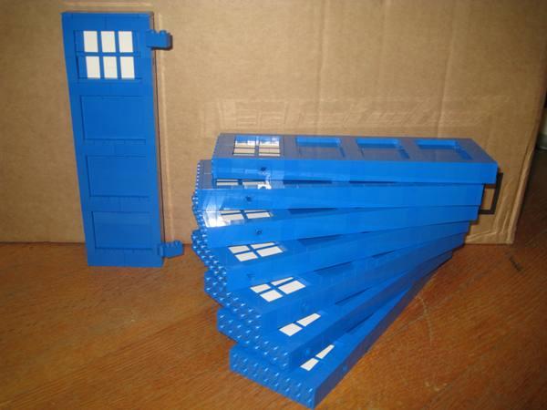 Lego TARDIS Panel 1