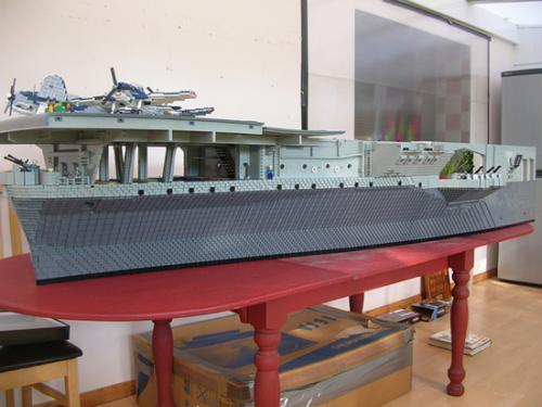 Lego USS Intrepid 05