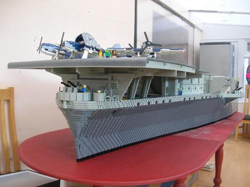 Lego USS Intrepid 06