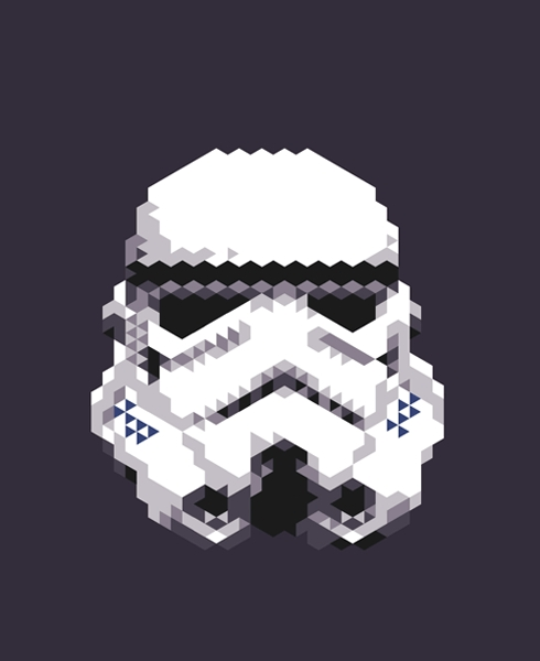 Star Wars Triangle Art 2