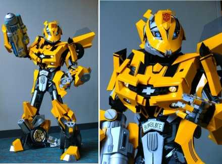 ... sharp edges and authentic accessories this amazing Transformer costume for bumblebee is very likely to triumph any Transformer costume for humans. & 17 Transformers Costume Ideas for Halloween | Walyou