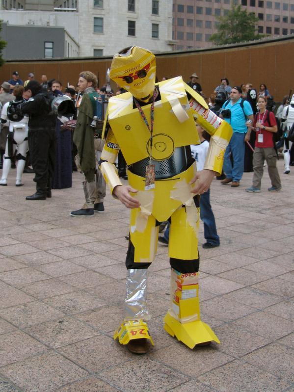 bizarre star wars costumes c3po costume 1