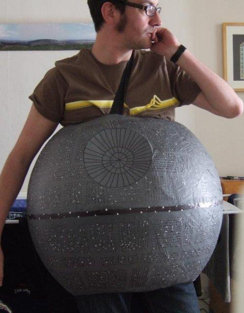 bizarre star wars costumes death star costume 1