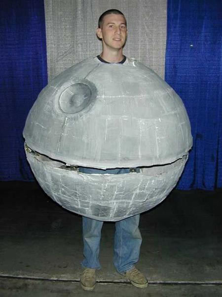 bizarre star wars costumes death star costume 2