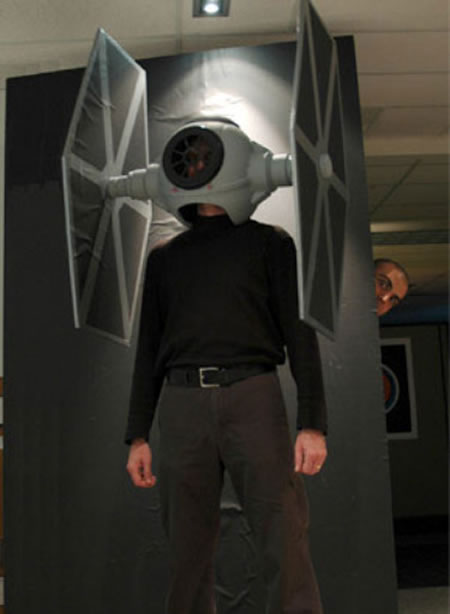bizarre star wars costumes tie fighter costume 1