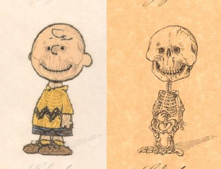 charlie brown anatomy design image