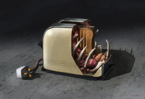 hot toaster anatomy design image