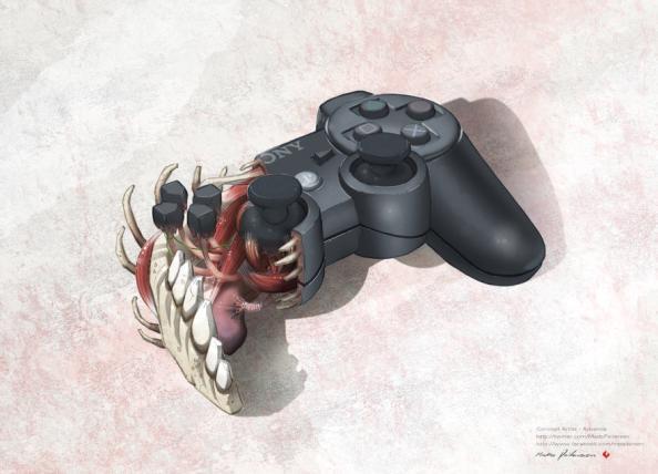 ps3 controller anatomy design image