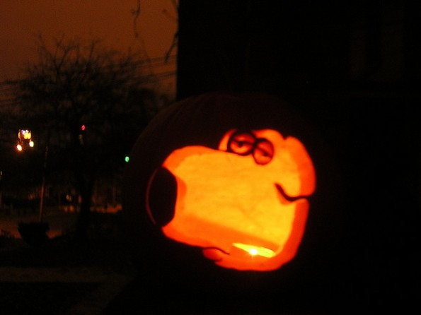 pumpkin carvings family guy brian griffin 2