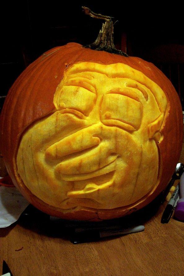 pumpkin carvings family guy glenn quagmire 1