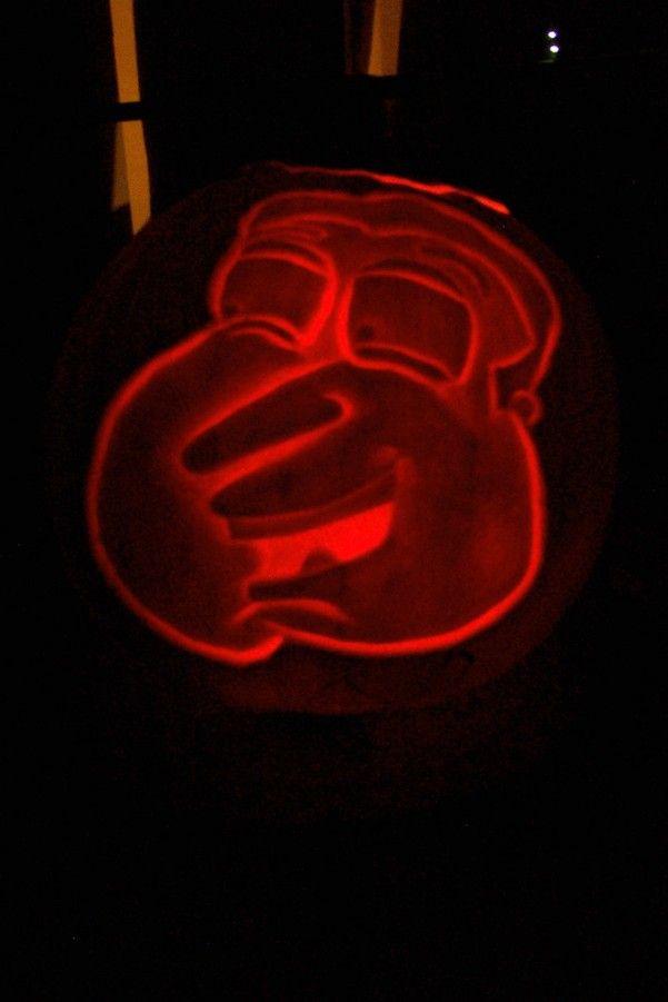 pumpkin carvings family guy glenn quagmire 2