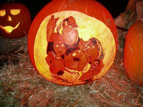 pumpkin carvings family guy griffin 3