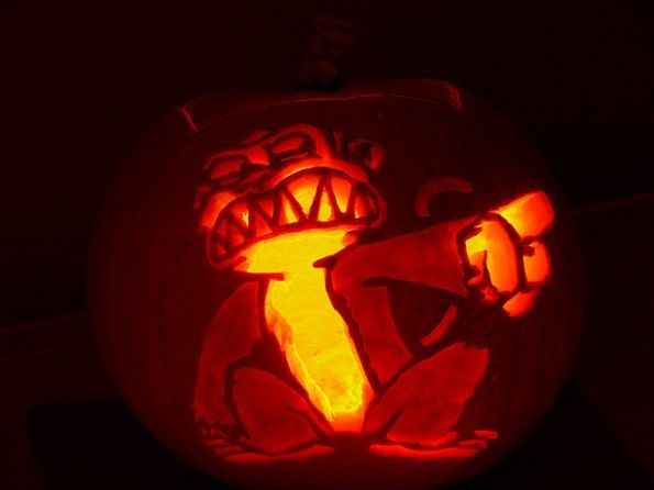 pumpkin carvings family guy monkey 1