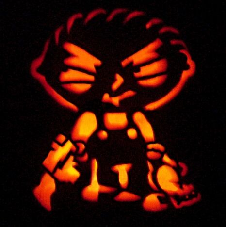 pumpkin carvings family guy stewie griffin 3