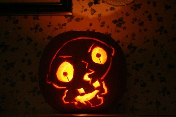 pumpkin carvings family guy stewie griffin 4