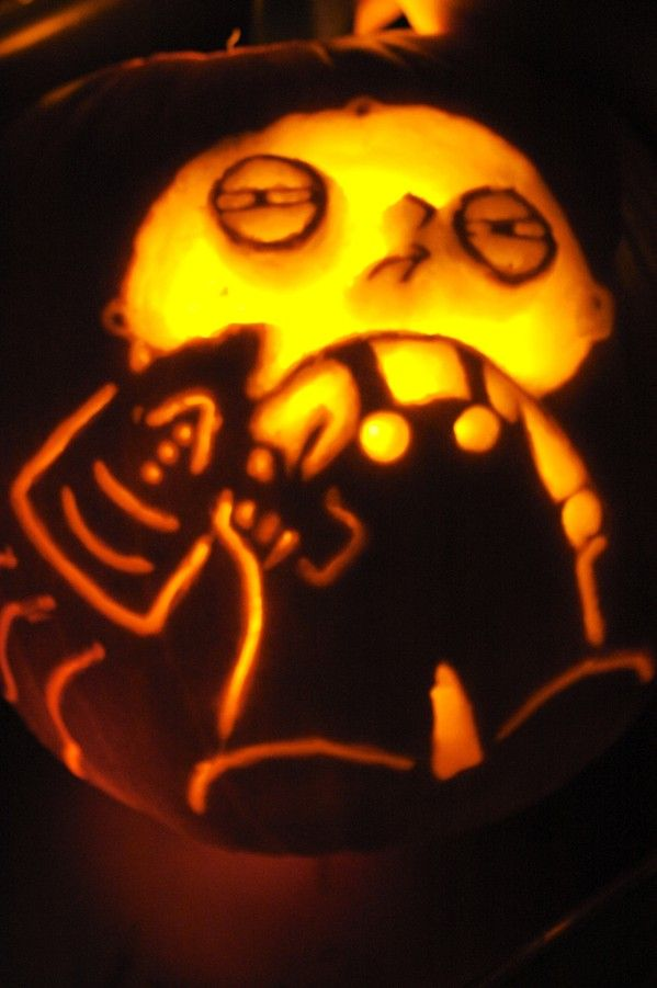 pumpkin carvings family guy stewie griffin 5