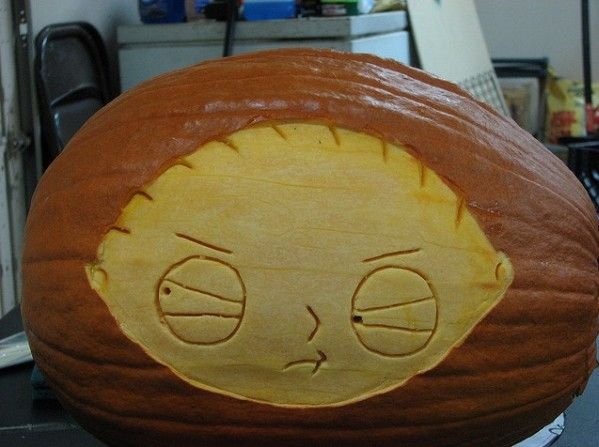 pumpkin carvings family guy stewie griffin 6