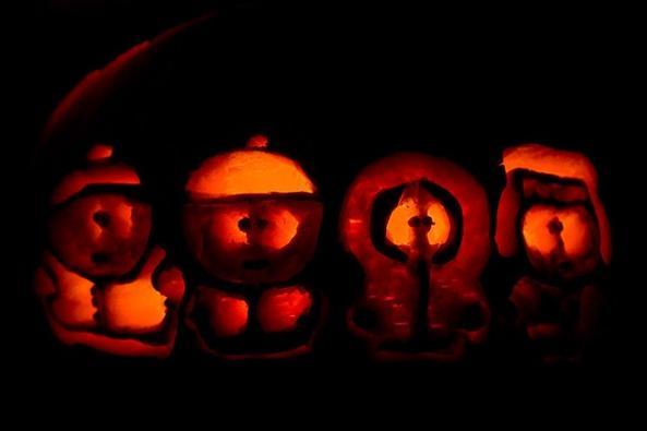 pumpkin carvings south park 2