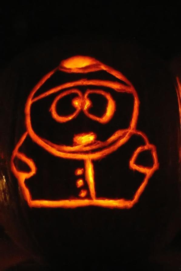pumpkin carvings south park 3