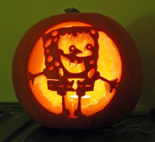 pumpkin carvings spongebob squarepants 11
