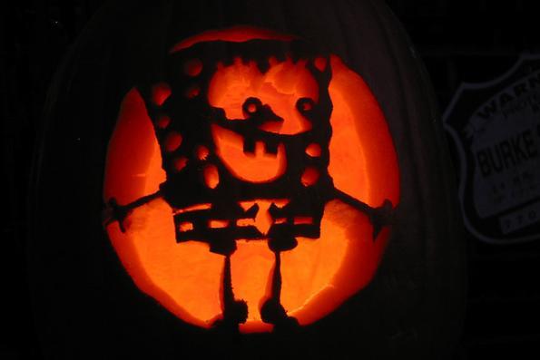 pumpkin carvings spongebob squarepants 3